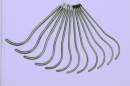 Бужи уретральные металлические изогнутые (комплект)